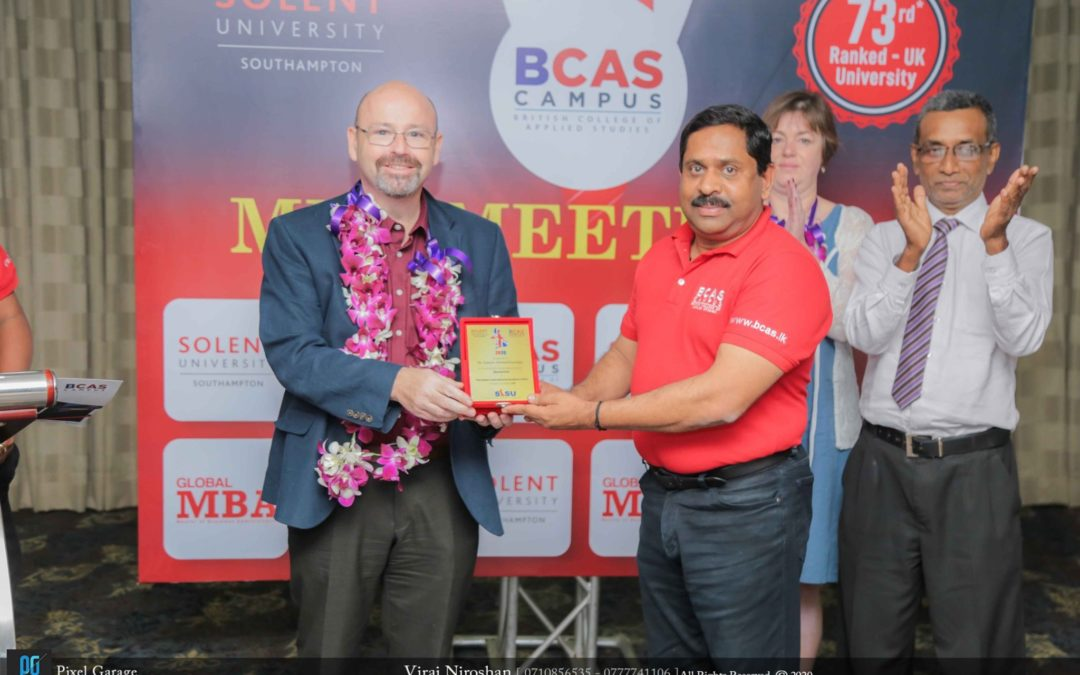 SOLENT UNIVERSITY MBA MEETUP of BCAS Kandy Campus